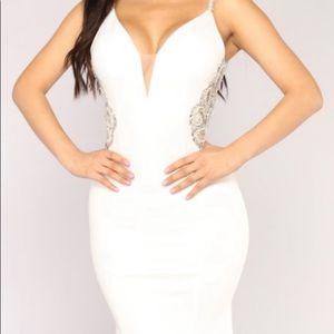 Beautiful beaded long gown.
